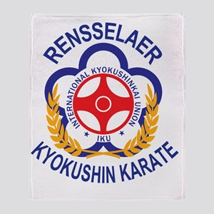 Rensselaer Kyokushin Throw Blanket