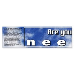 Part 1 of Cloud Bumper Sticker (you need all 3)
