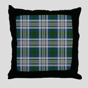Kennedy Dress Tartan Plaid Throw Pillow