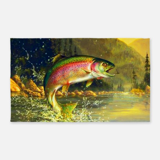 Trout 8x4 3'x5' Area Rug