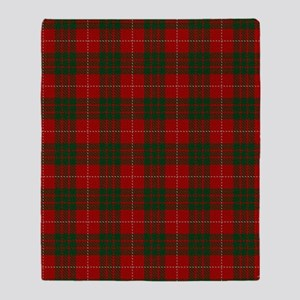 MacGregor Tartan Throw Blanket