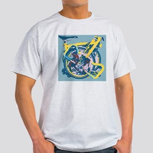 Brompton Folded Blue Light T-Shirt