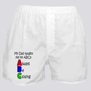 Always Be Closing - Dad Boxer Shorts