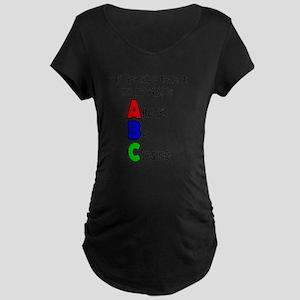 Always Be Closing - Grandpa Maternity Dark T-Shirt