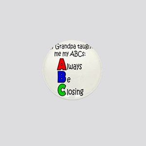 Always Be Closing - Grandpa Mini Button