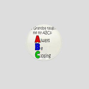 Always Be Closing - Grandpa Mini Button
