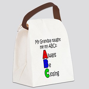 Always Be Closing - Grandpa Canvas Lunch Bag