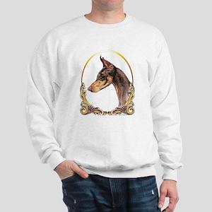 Doberman Pinscher Xmas/Holiday Sweatshirt