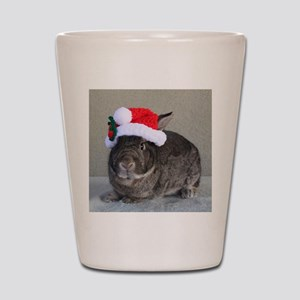 Bunny Christmas Ornament Shot Glass
