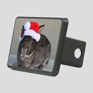 Bunny Christmas Ornament Rectangular Hitch Cover