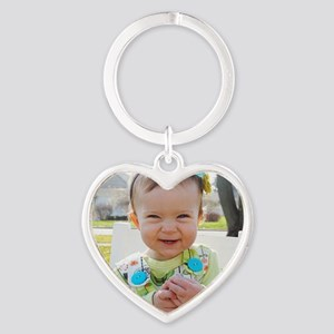 hadley Heart Keychain