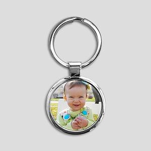 hadley Round Keychain