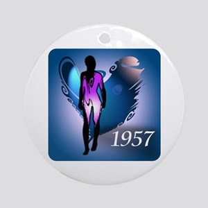 Angel 1957 Ornament (Round)