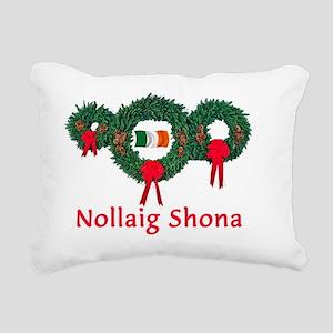 Ireland Christmas 2 Rectangular Canvas Pillow