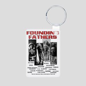 Native American, First Nat Aluminum Photo Keychain