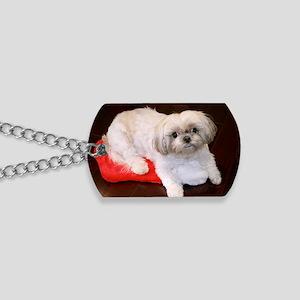 Dog Holiday Ornament Dog Tags