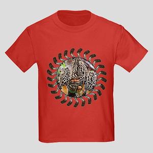 morel and gnome art Kids Dark T-Shirt