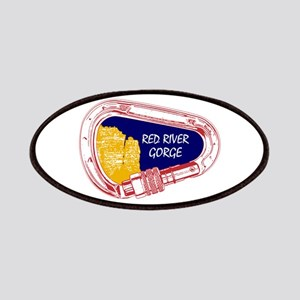 Red River Gorge Climbing Carabiner Patch