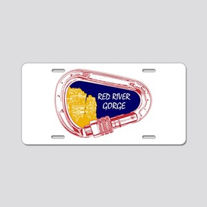 Red River Gorge Climbing Ca Aluminum License Plate