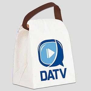 DATV Logo Canvas Lunch Bag