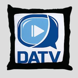 DATV Logo Throw Pillow