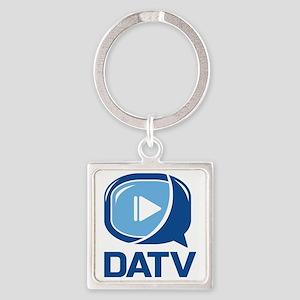DATV Logo Square Keychain