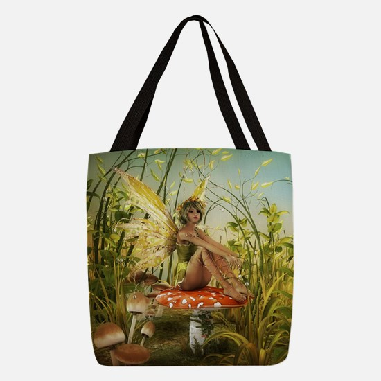 Indian Summer Fairy Polyester Tote Bag