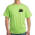 Spotmonkey.Net Jew Boys Green T-Shirt