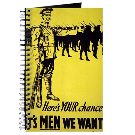 Heres Your Chance Its Men We Want - anonymous - 19