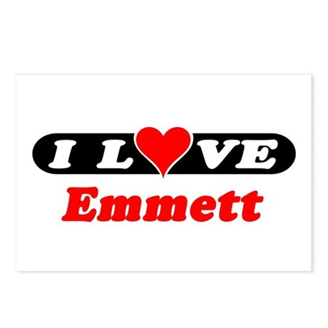 I Love Emmett Postcards (Package of 8)