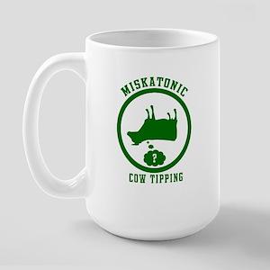 Miskatonic Cow Tipping Large Mug