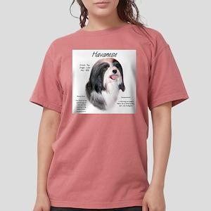 Havanese Womens Comfort Colors Shirt