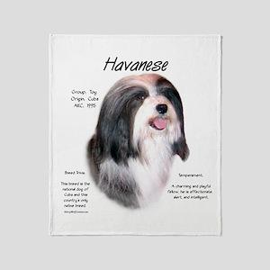 Havanese Throw Blanket