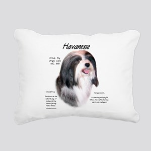 Havanese Rectangular Canvas Pillow