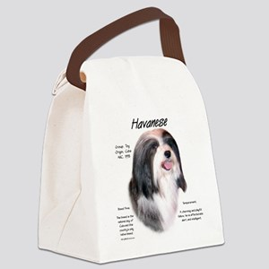 Havanese Canvas Lunch Bag