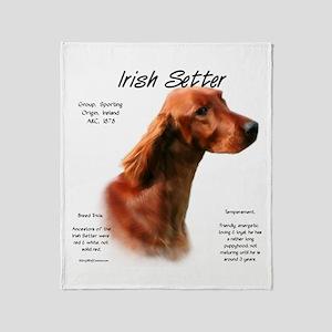 Irish Setter Throw Blanket