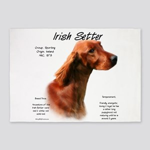 Irish Setter 5'x7'Area Rug