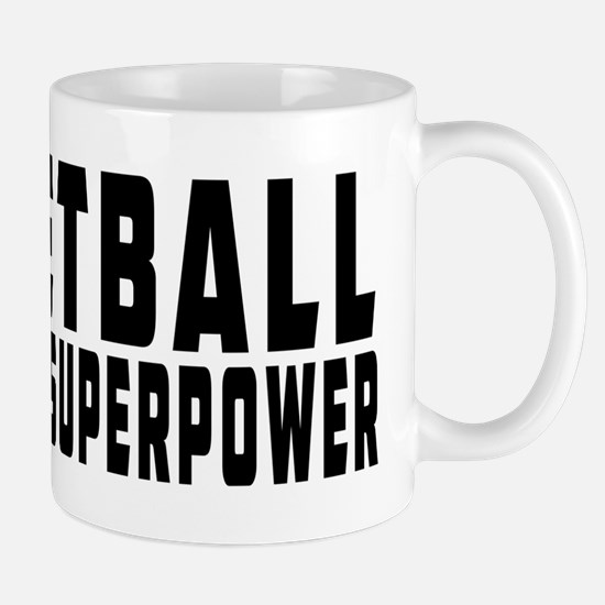 Netball Is My Superpower Mug
