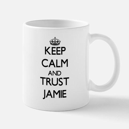 Keep Calm and TRUST Jamie Mugs