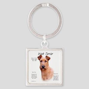 Irish Terrier Square Keychain