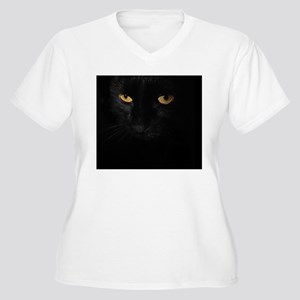 laptop_Le Chat No Women's Plus Size V-Neck T-Shirt