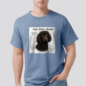 Irish Water Spaniel Mens Comfort Colors Shirt