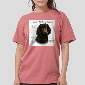 Irish Water Spaniel Womens Comfort Colors Shirt