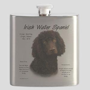 Irish Water Spaniel Flask