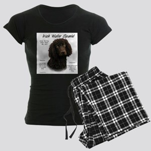 Irish Water Spaniel Women's Dark Pajamas