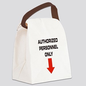 AUTHORIZED Canvas Lunch Bag