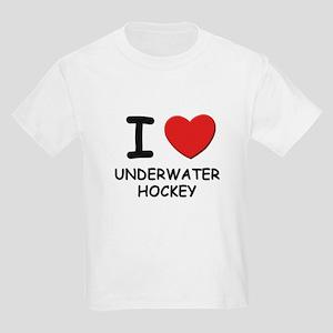 I love underwater hockey Kids Light T-Shirt