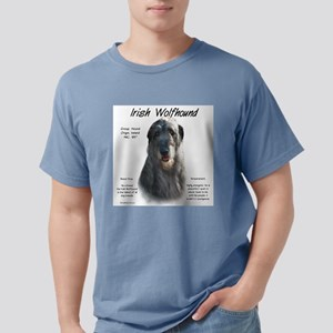 Irish Wolfhound (grey) Mens Comfort Colors Shirt