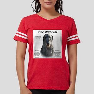 Irish Wolfhound (grey) Womens Football Shirt