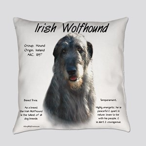 Irish Wolfhound (grey) Everyday Pillow
